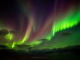 Polarlichter am Himmel